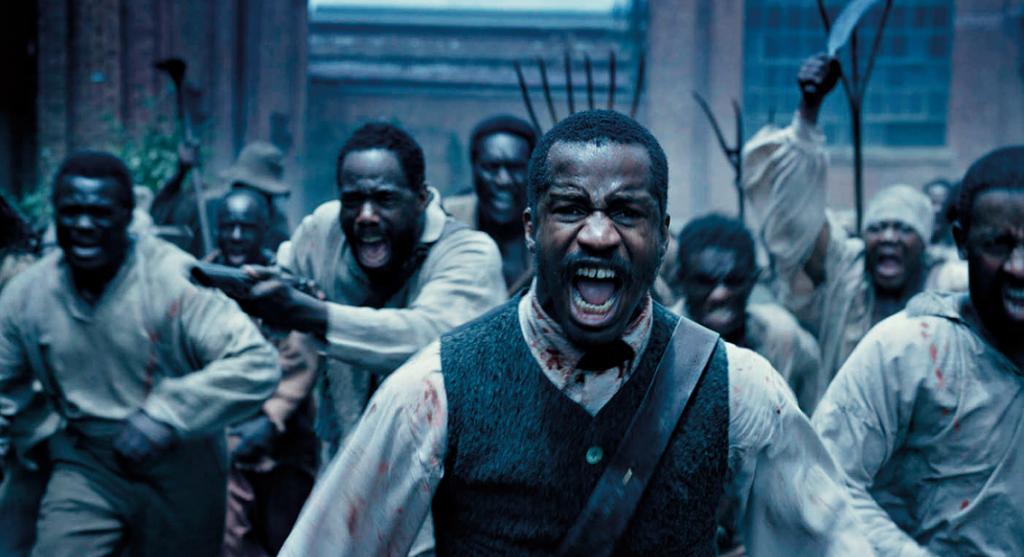 Nate Parker (centro), no papel de Nat Turner: revolta contra a escravidão | Divulgação
