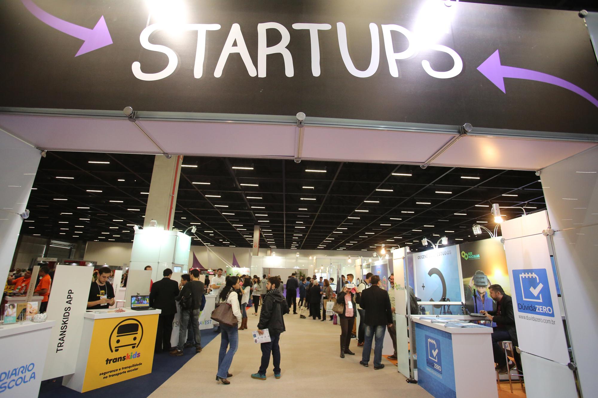 Espaço Start Ups cresce 50% e ganha mais interação com visitantes