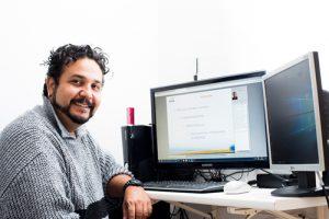 Jonathan Dias Holanda, do Senac EAD: ensino a distância para conciliar trabalho com estudos