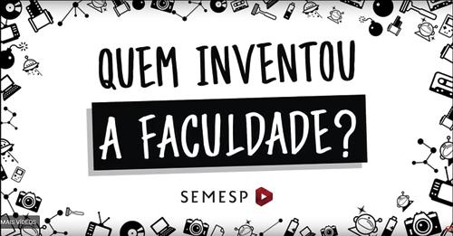 Série de vídeos para o YouTube com o apoio do Semesp: temas de educação explicados na linguagem dos jovens