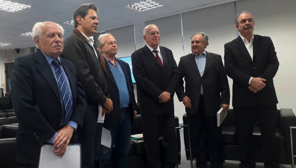 ex-ministros da Educação contra Bolsonaro