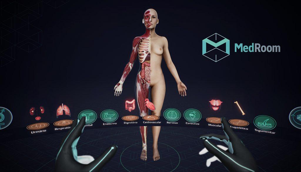 startup realidade virtual Medicina