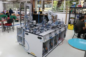 planta industrial 4.0 Eniac