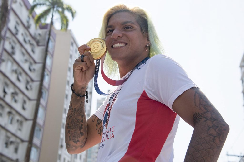 Olimpíadas - Ana Marcela Cunha